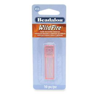 Beadalon Hard Bead Needles 10 Pack