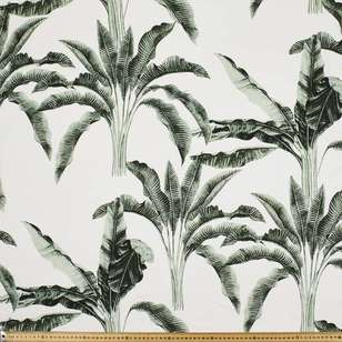 Palm Day Printed Rayon Fabric