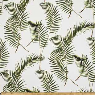 Fronds Printed Rayon Fabric
