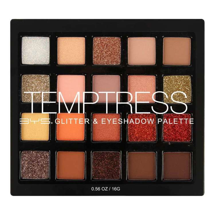 BYS Temptress Eyeshadow Palette Multicoloured
