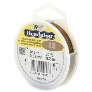 Beadalon 19 Strand Stainless Steel 9 m Wire