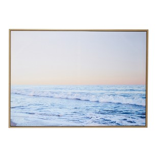 Cooper & Co Waves Framed Canvas Print
