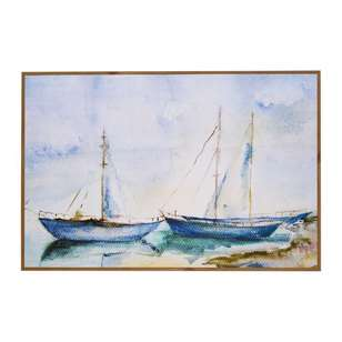 Cooper & Co Framed Boat Art
