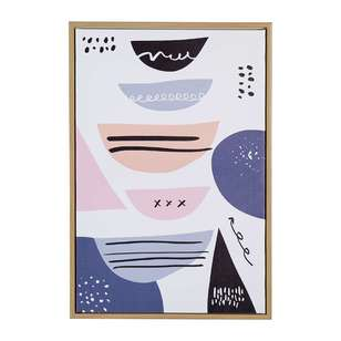 Cooper & Co Framed Abstract Canvas Art