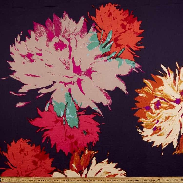 Flowers Printed 148 cm Stretch Crepe Fabric
