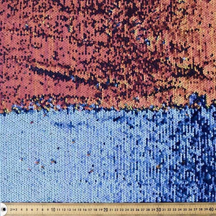 Iridescent Reversible Sequin Fabric