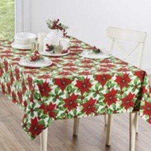 Living Space Festive Eve Tablecloth