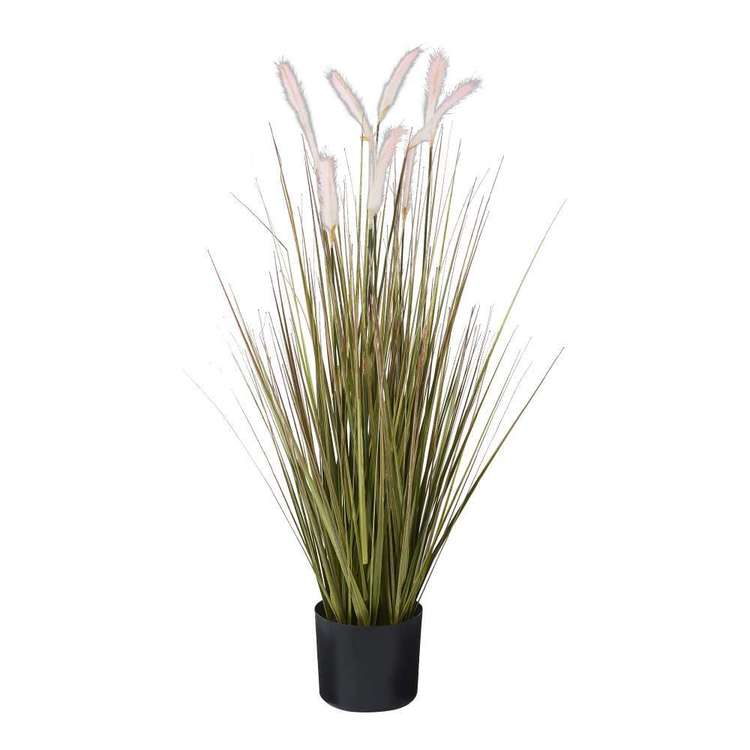 Botanica Pampas With Grass In a Pot Pink & Green 110 cm