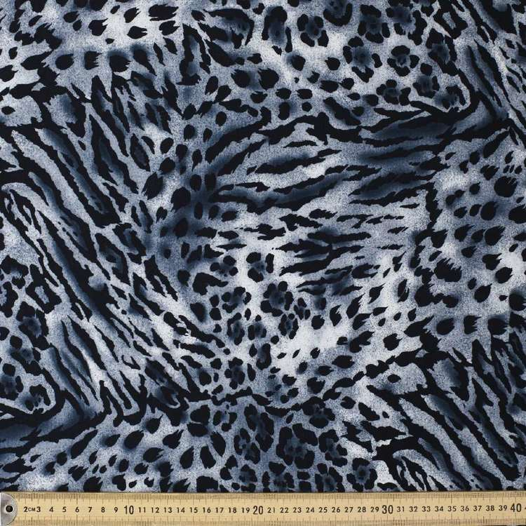 Leopard Printed Cotton Spandex Fabric
