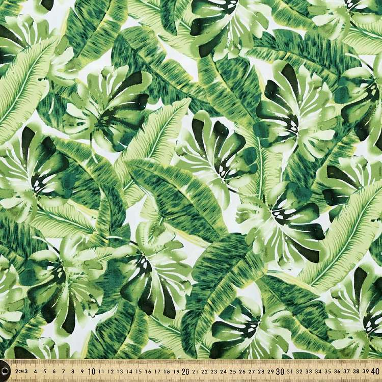 Greenhouse Printed Cotton Poplin Fabric