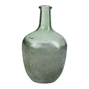 Living Space Summer Life Frosted Glass Bubble Vase