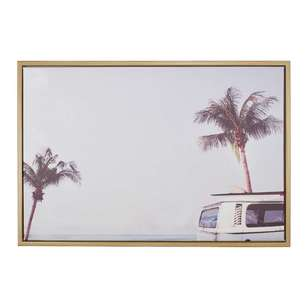 Ombre Home California Dreams Roads Framed Canvas Print