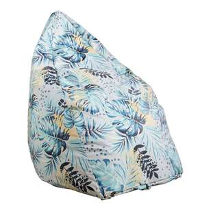 Living Space Leaf Printed Bean Bag Cover