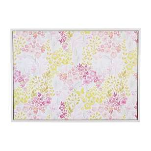 Ombre Home Beautiful Blossom Ditsy Floral Framed Canvas