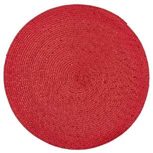 Bouclair Scandi Legend Round Lurex Placemat