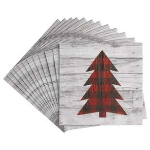 Bouclair Scandi Legend 20 Pack Tree Napkins