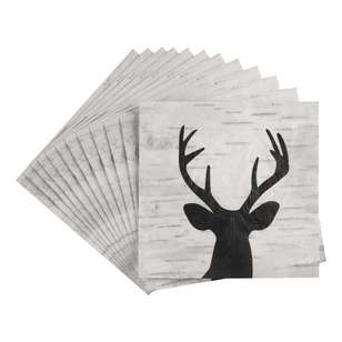 Bouclair Frozen Memories 20 Pack Deer Napkins