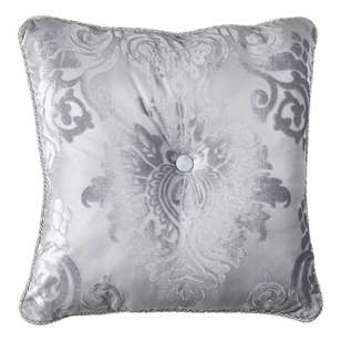 La Scala Scarlet Button Cushion