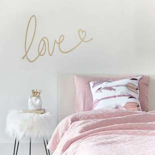 Bouclair Mystical Glitz Love Wall Sticker