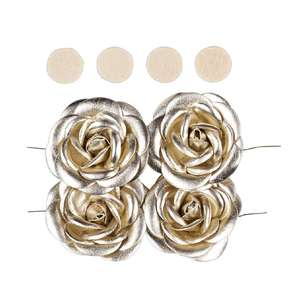 Maria George Pleather Roses 4 Pack