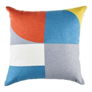 Koo Home Rollins Embroidered Cushion
