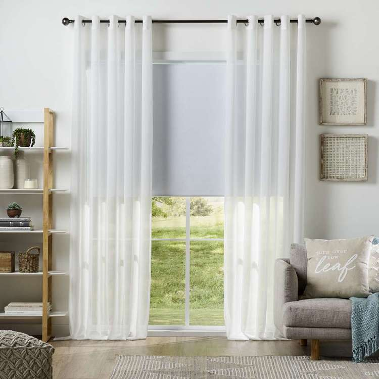 KOO Stella Eyelet Curtains