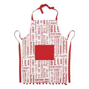 Living Space Festive Aussie Christmas Apron