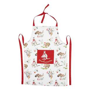 Living Space Festive Aussie Mate Apron