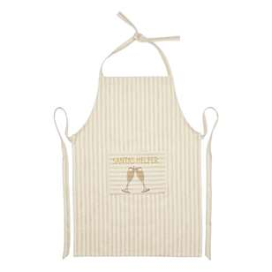 Living Space Festive Santa's Helper Apron