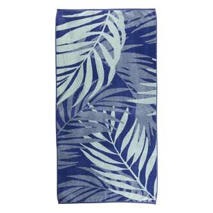 KOO Palm Blue Beach Towel