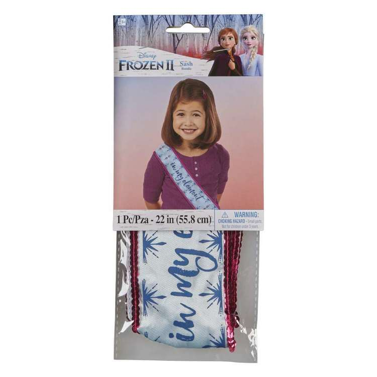 Frozen 2 Fabric Sash
