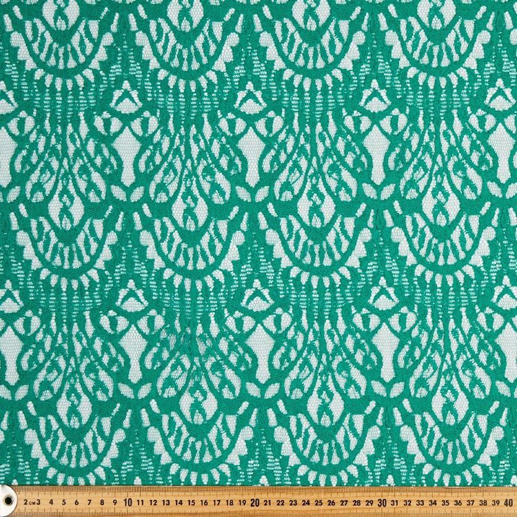 Scalloped Lace Fabric