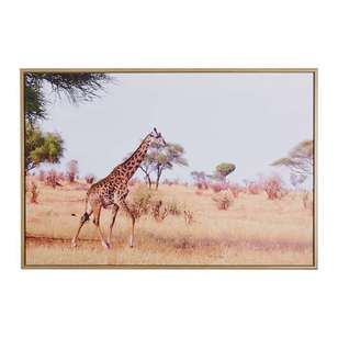 Cooper & Co Framed Giraffe Canvas