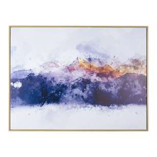 Cooper & Co Abstract Mountains Framed Print