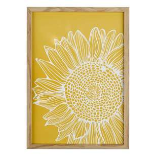 Cooper & Co Sun Flower A3 Framed Print #8
