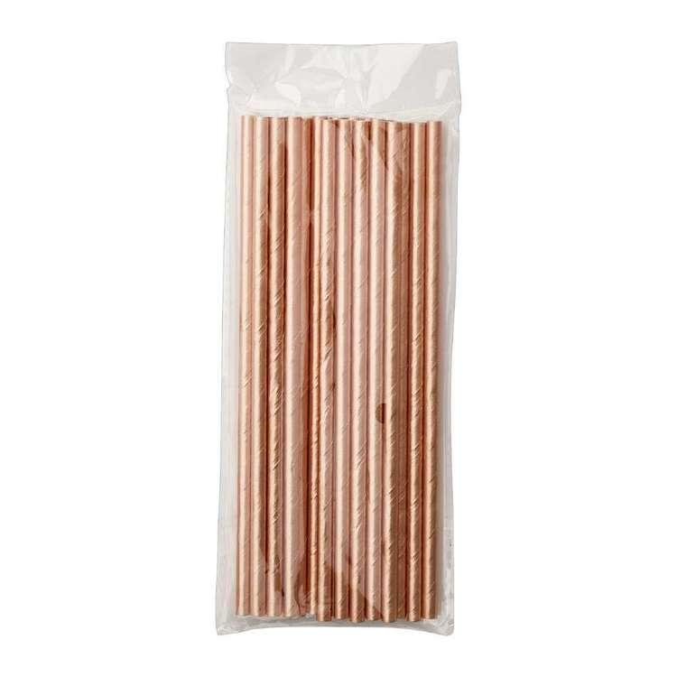 Matte 19.7cm Paper Straw