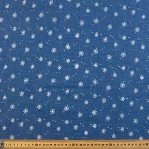 Dandelion Printed Denim Fabric