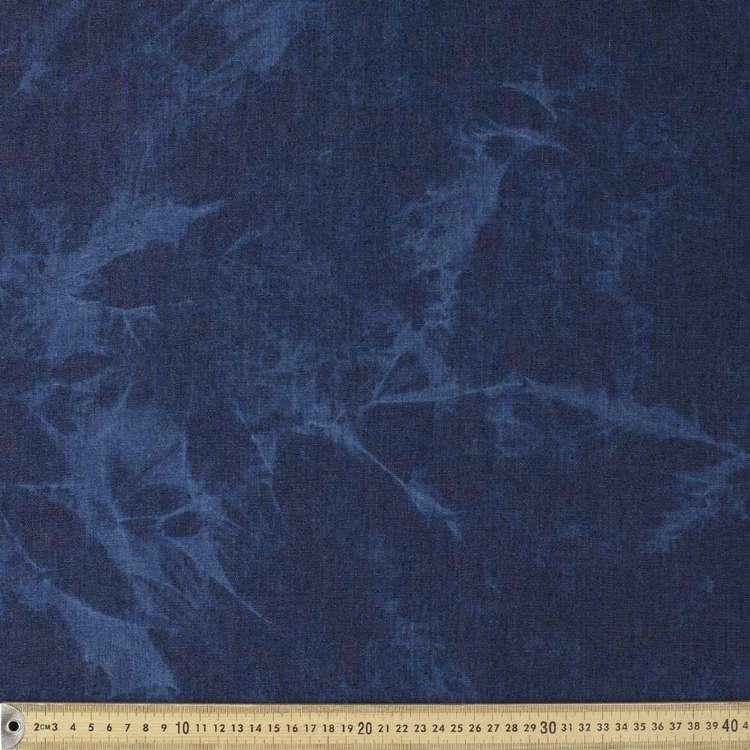 Tye Dye Printed Denim Fabric