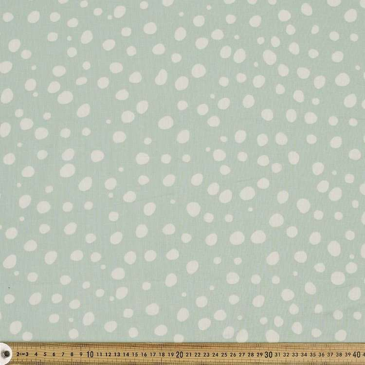 Large Scatter Printed Muslin Fabric