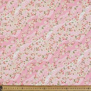 Cherry Blossom Oriental TC Cotton Polyester Fabric