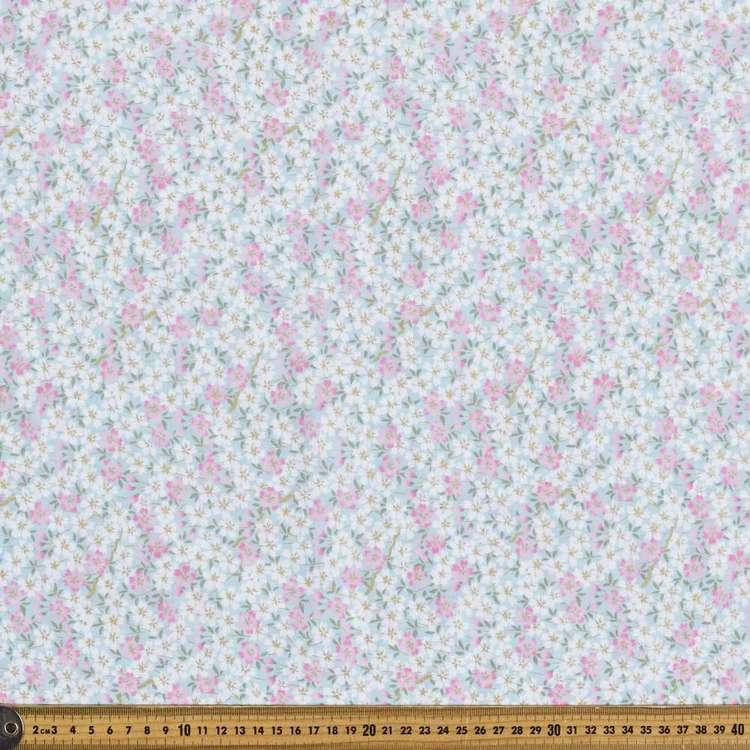 Pretty Petals Oriental TC Cotton Polyester Fabric