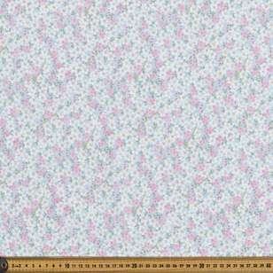 Pretty Petals Oriental TC Cotton Polyester Fabric