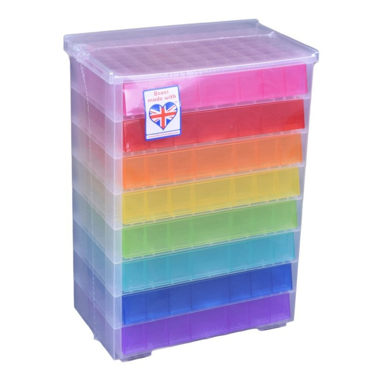 Really Useful Box Bead Storage With 8 Drawers