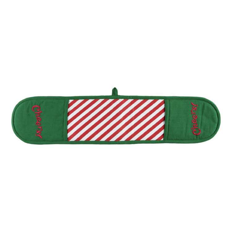 Living Space Festive Cheers Double Oven Mitt