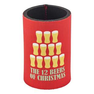 Christmas By Ladelle 12 Beers Stubby Holder