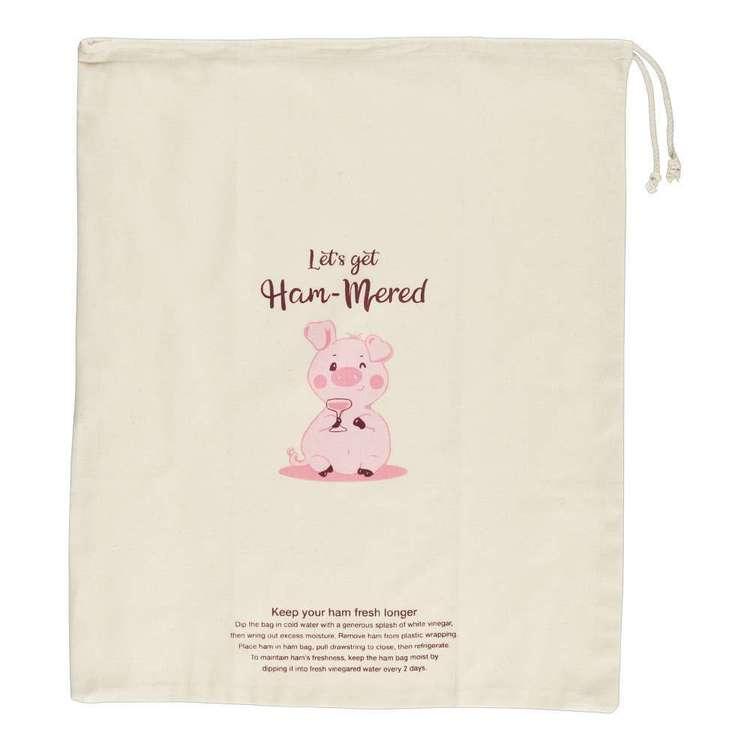 Ladelle Ham-mered Ham Bag