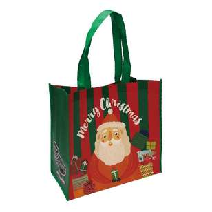 Spotlight Santa With Presents Shopping Bag