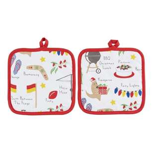 Christmas By Ladelle Icons Pot Holder 2 Pack