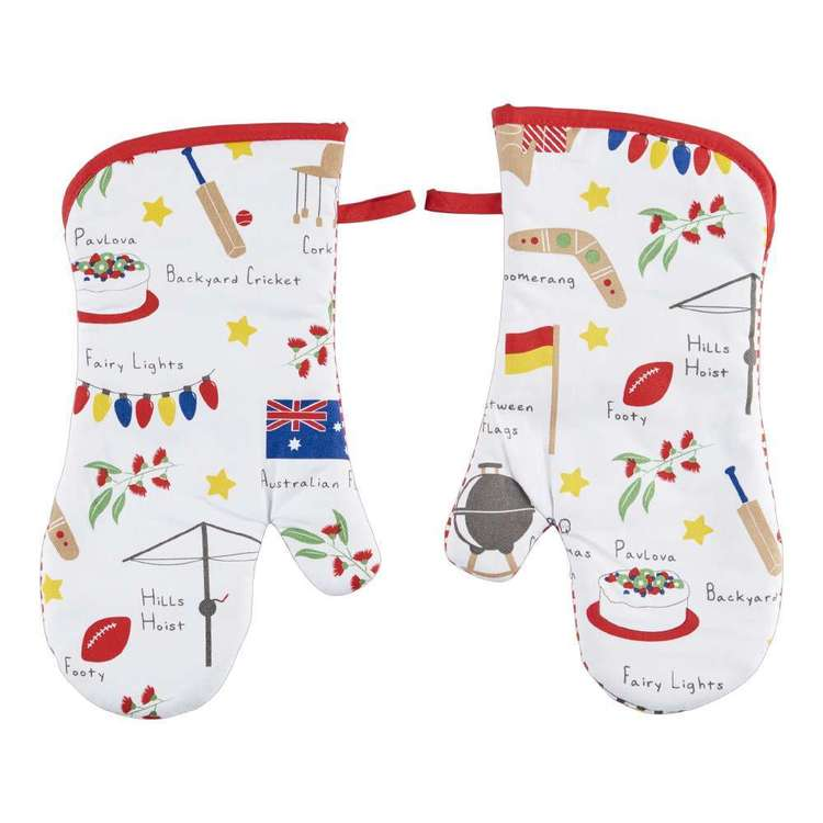 Christmas By Ladelle Icons Oven Glove 2 Pack