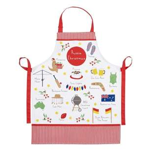 Christmas By Ladelle Icons Printed Apron